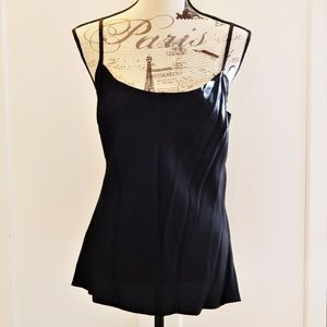 Simple Black Camisole Sz 12